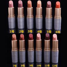 Maquillage Cosmétique Beauté Rouge à Lèvres 12 Couleurs Crayon Lip Gloss Étanche