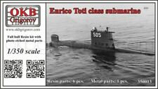 1/350 Enrico Toti class submarine