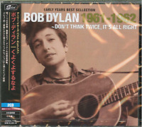 BOB DYLAN-EARLY YEARS BEST SELECTION-DON'T THINK TWICE. IT'S...-JAPAN 2 CD F30