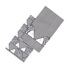 Scion Spike Set 2 Tea Towels Dark Grey Hedgehog Hang Loop Kitchen Patterned