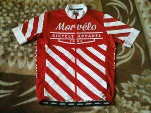 RARE CYCLING JERSEY - MORVELO BICYCLE APPAREL 1985 SIZE L