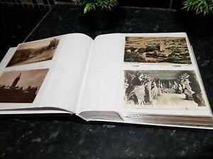 Vintage Postcards Album ,135 old postcards