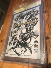 The Walking Dead #94 Sketch Variant Edition CGC SS 9.6 Signed By Robert Kirkman