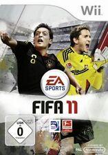 Nintendo Wii +Wii U FIFA 11 Fussball 2011 DEUTSCH GuterZust.