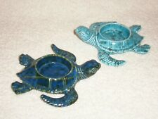 Partylite Sea Turtles Tealight Holder Pair - Nib