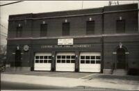 Central Islip Long Island NY Fire Department 1984 Real Photo Postcard