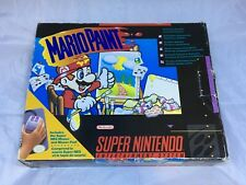 Mario Paint Super Nintendo Entertainment System, 1992, Complete