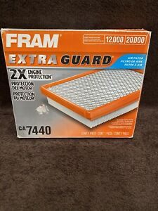 NEW Fram CA7440 Engine Air Filter Direct Replacement 2X Extra Guard