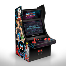 "Mini Arcade 10"" Retro Arcade Machine 34 Data East Hits Player Bad Dudes B-Wings."
