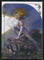 2018 Marvel Masterpieces Gold Foil Trading Card #19 Dagger (Tier 1)