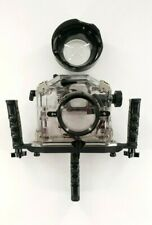 Vintage IKELITE Underwater Camera Case Housing Ocean Diving Photography SLR-AF