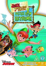 Jake and the Never Land Pirates   'Peter Pan Returns '   (DVD)   **Brand New**