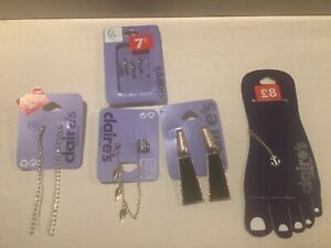Claires earrings accessories bundle exdisplay bundle no2
