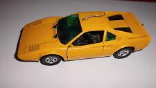 Automodello modellino auto Polistil Ferrari 308 GTB Gialla /25