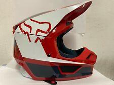 Fox Racing V1 MVRS Off-Road MX SxS Motocross Helmet PRZM Navy/Red Medium NO BOX