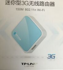 Wi-Fi Wireless Portable 3G Wireless Router Travel TP-LINK TL WR703N 150Mbps c