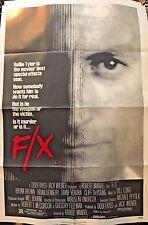 "F/X Movie Poster Folded 40"" x 27"""