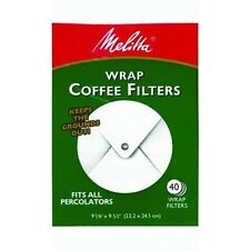 Melitta 627402 Wrap Coffee Filter Paper White, 40 Count