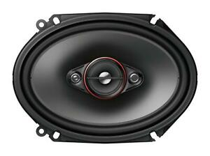 """Pioneer Ts-800M, 6"""" X 8"""" 4-Way Coaxial Speakers, 350W Max Power"""