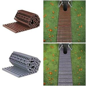 Garden Path Track Green Plastic Roll Out Plastic Grass Lawn Protector