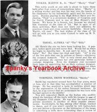 1924 Ithaca NY High School Yearbook~Photos~History~Football~Basketball~Band~++++