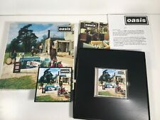 Be Here Now -  Oasis (UK) UK CD Album Box Set limited edition +  Letter invite