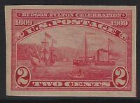 US Stamps - Scott # 373 - 2c Imperf - Mint Light Hinge                   (A-505)