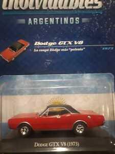 DODGE GTX  V8 (1973) Colección Autos Inolvidables #104 1:43  Diecast Car
