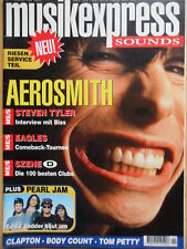 MUSIKEXPRESS 11/1994 ** Aerosmith Pearl Jam Body Count Eagels Tom Petty Clapton
