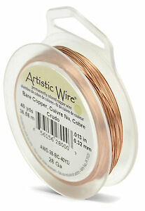 Beadalon Artistic Wire- 28 gauge (0.32mm) Standard Colours (Various Available)