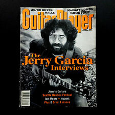 Grateful Dead Jerry Garcia Guitar Player Magazine 1995 December Cover Photo JGB