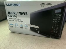 Samsung MS14K6000AG/AA 1.4 Cu-Ft. Counter Top Microwave Black Stainless