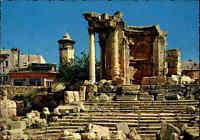 LIBANON Postkarte Lebanon Liban Card ~1970 BAALBECK Ruine Venus Temple Tempel
