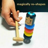 Mini Portable Unbreakable Children Funny Wooden Toy Tricks Props Toys 35DI 01