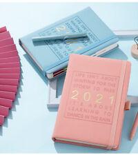 New Fashion Agenda Jan-Dec 2021, English language A5 notebook