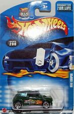 Hotwheels USA Target exclusive .com Green mini cooper S, Mint carded.