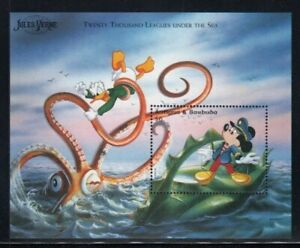 ANTIGUA Disney Twenty Thousand Leagues Under the Sea MNH souvenir sheet