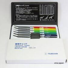 TSUBOSAN MA00600 Hardness Tester Checker File HRC40-HRC65 Set from JAPAN