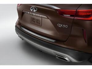NEW OEM 2019-20 Infiniti QX50 Stainless Steel Rear Bumper Protector T99B1-5NA00