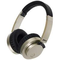 Groov e GVBT400GD Fusion Wireless Bluetooth or Wired Stereo Headphones - Gold