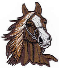 Karo Pferd Pony Bügelbilder Aufnäher CRELANDO Aufbügel Flicken 3 Stück