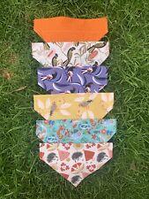 Handmade Dog Bandanas - Slip Over Collar - Australian Natives - Xmas - XS S M L