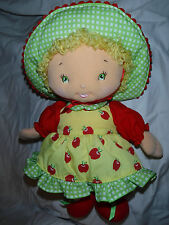 Strawberry Shortcake Ban Dai Talking Apple Dumpling Doll Plush Soft Toy Stuffed
