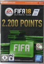 Fifa 18 Ultimate Team - 2200 Points-código de descarga-pc-germano-nuevo/en el embalaje original