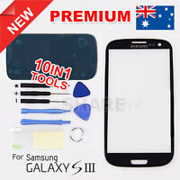 OZ Black Lens Outer Glass Screen Replacement for Samsung Galaxy S3 SIII i9300