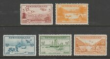 NEWFOUNDLAND C13-C17 MH - 1933 Air Mail set of 5 - VF
