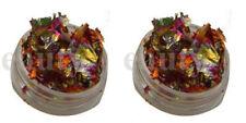 2 x 3g pots nail art foil leaf flakes old copper pot and for nails decoration