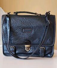 Futura Genuine Leather Satchel Laptop Ipad Carrier Crossbody Casual Men's Bag