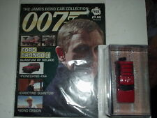 JAMES BOND CAR COLLECTION #103 FORD BRONCO in BLISTER @MAGAZINE