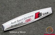 AUDI S LINE TEAM GOH EMBLEM SCHRIFTZUG A3 (goh#4si) A4 S4 S3 Quattro RS TT sport